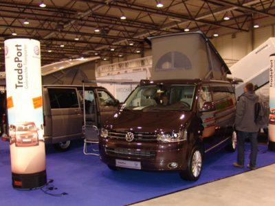 Transporter Camping-Ausstellung