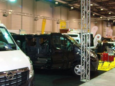 Messeausstellung Nutzfahrzeuge Transportertage BB