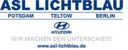 ASL Lichtblau Hyundai ist Sponsor der TransporterTage BB