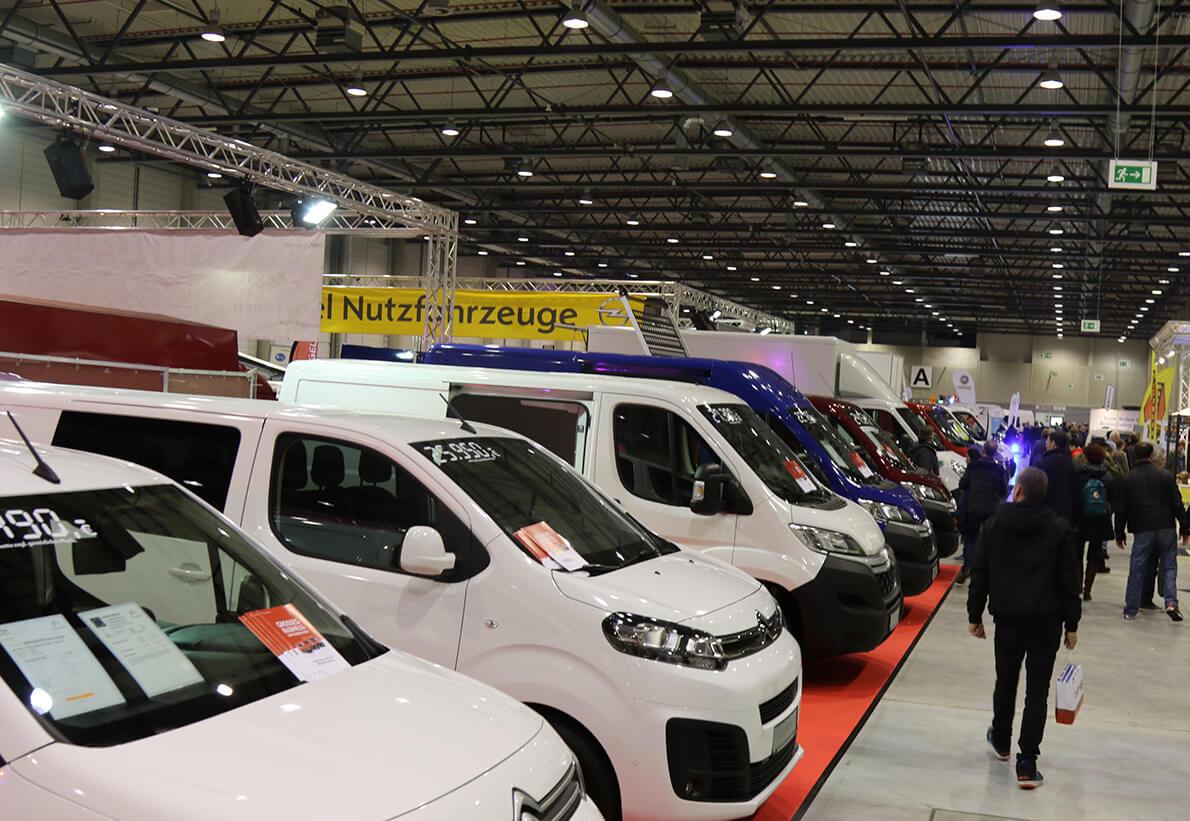 Opel Nutzfahrzeuge auf der Messe TransporterTage